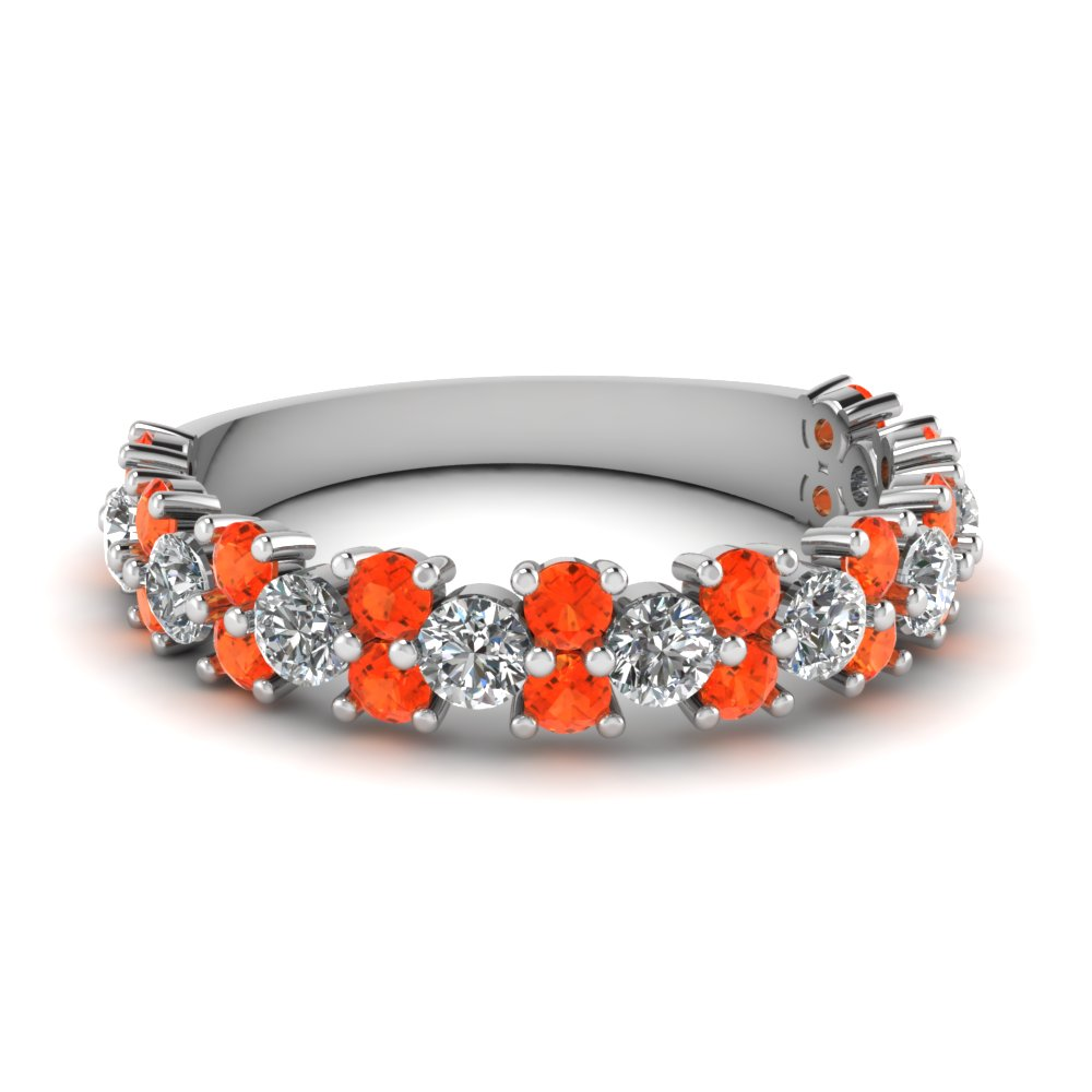 vintage round women diamond wedding ring with orange topaz in FD1094BGPOTO NL WG.jpg