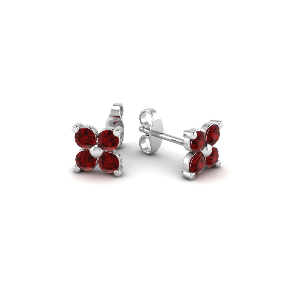 pigeon ruby stud jewelryalacesquare solid p picture of s silver earrings sterling blood red