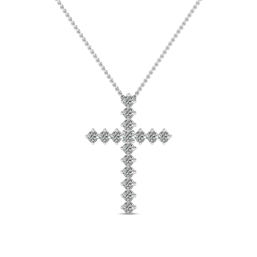 white-gold-round-white-diamond-cross-religious-pendant-in-prong-set-FDRPD203-NL-WG