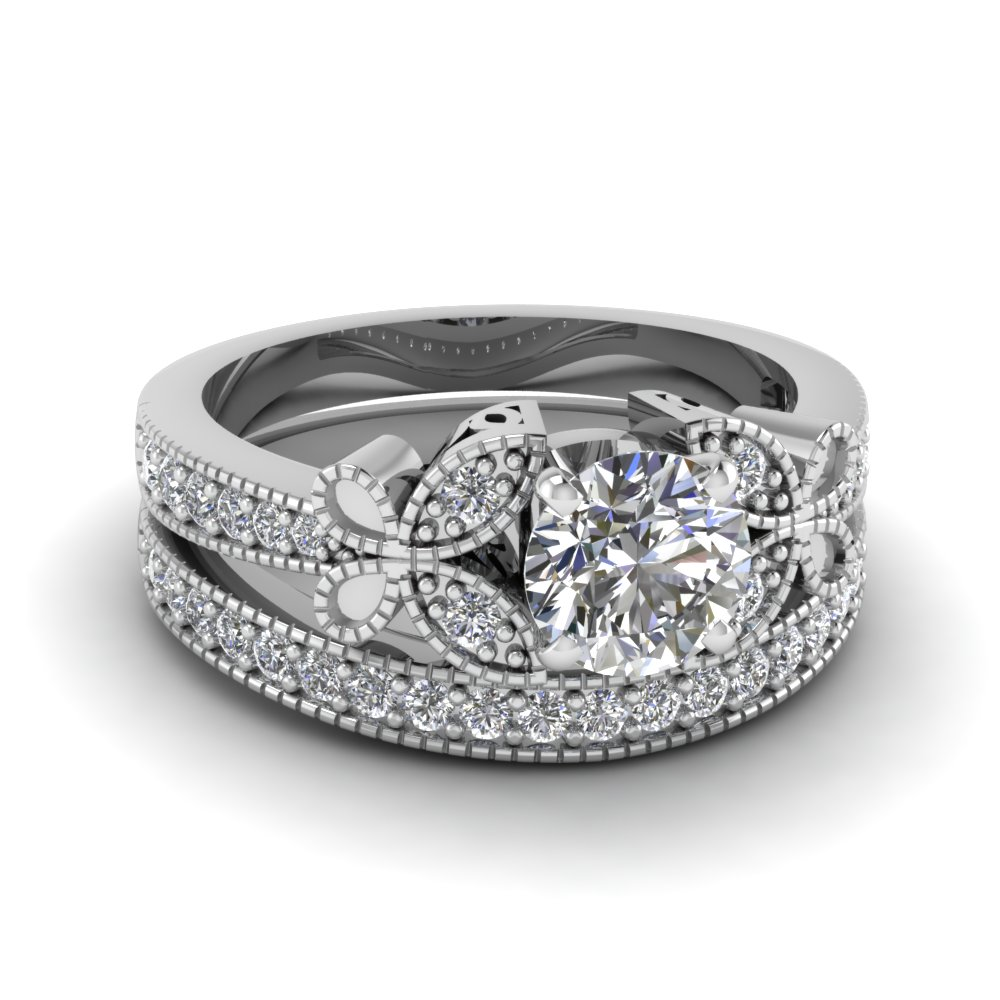Exclusive Diamond Wedding Ring Sets