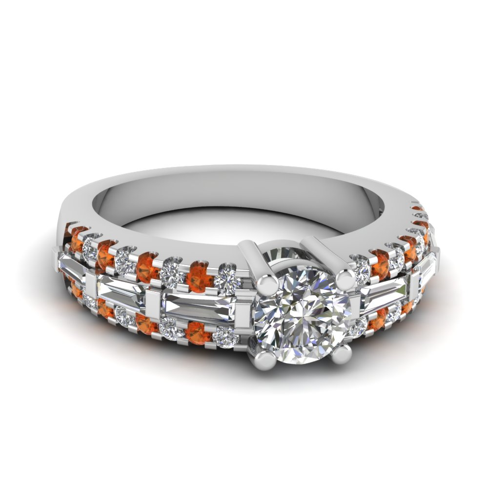 white-gold-round-white-diamond-engagement-wedding-ring-with-orange-sapphire-in-bar-pave-set-FDENS1395RORGSAOR-NL-WG