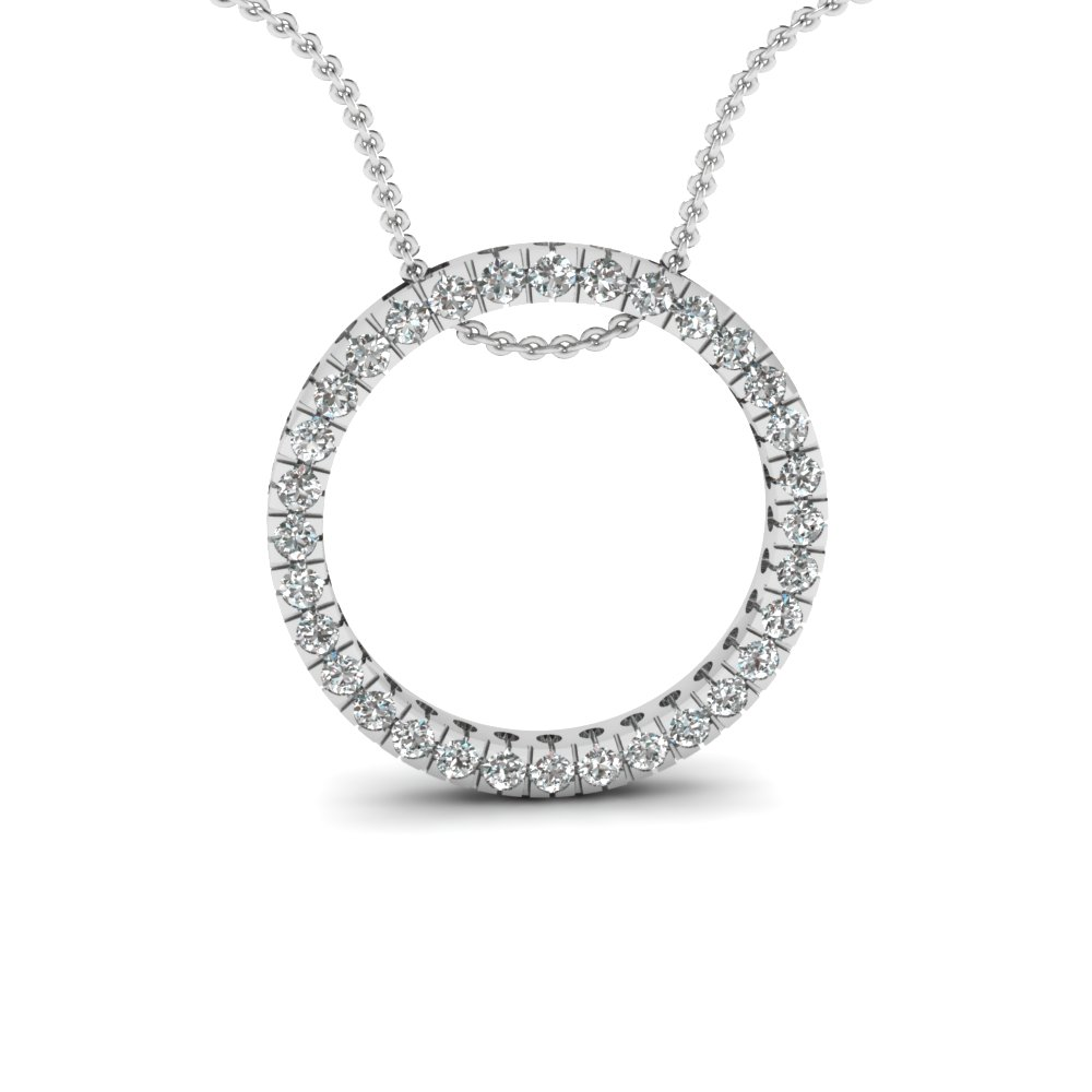 Get clearance pendants on special sale price fascinating diamonds clearance pendants with white diamond in 14k white gold mozeypictures