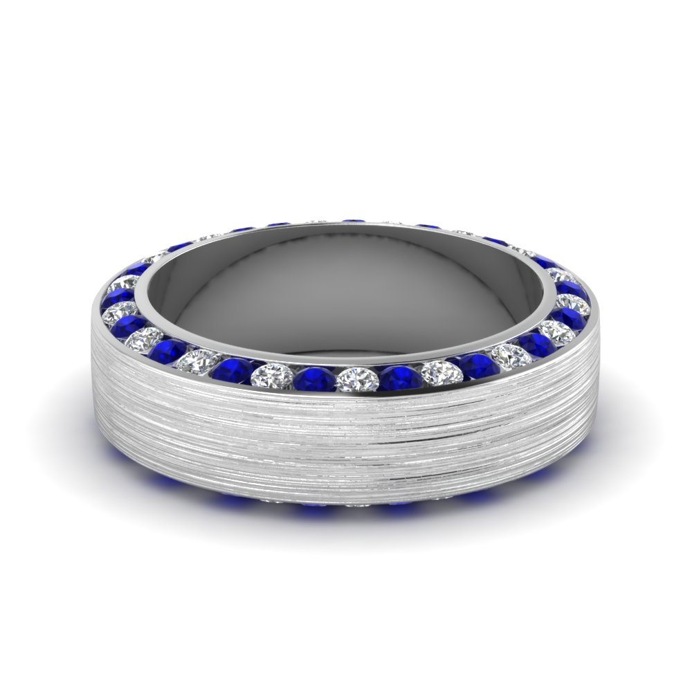 white-gold-round-white-diamond-mens-wedding-band-with-blue-sapphire-in-channel-set-FDDB1040BGSABL-NL-WG
