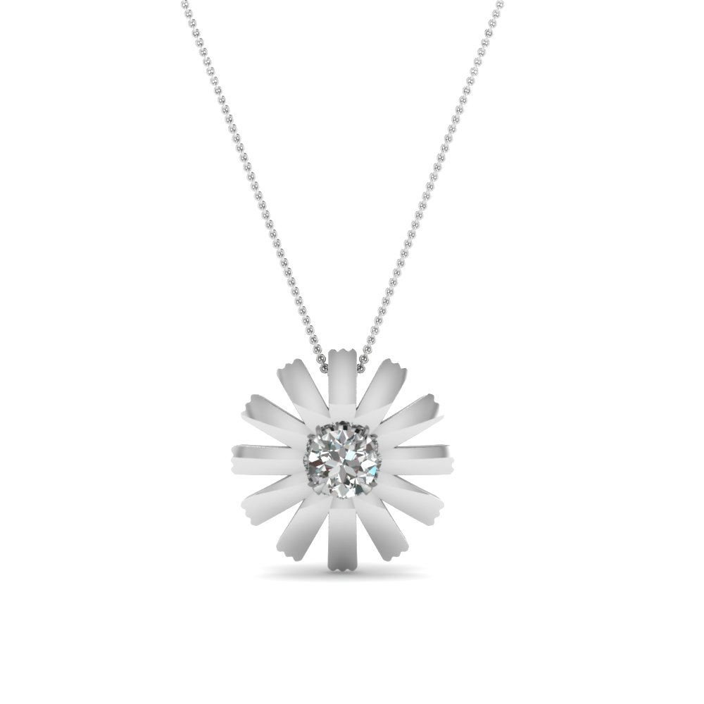 beautiful diamond pendant for women in FDPD1089 NL WG