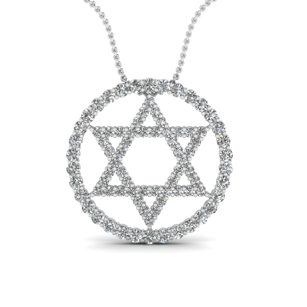white-gold-round-white-diamond-star-religious-pendant-in-prong-set-FDPD1540-NL-WG