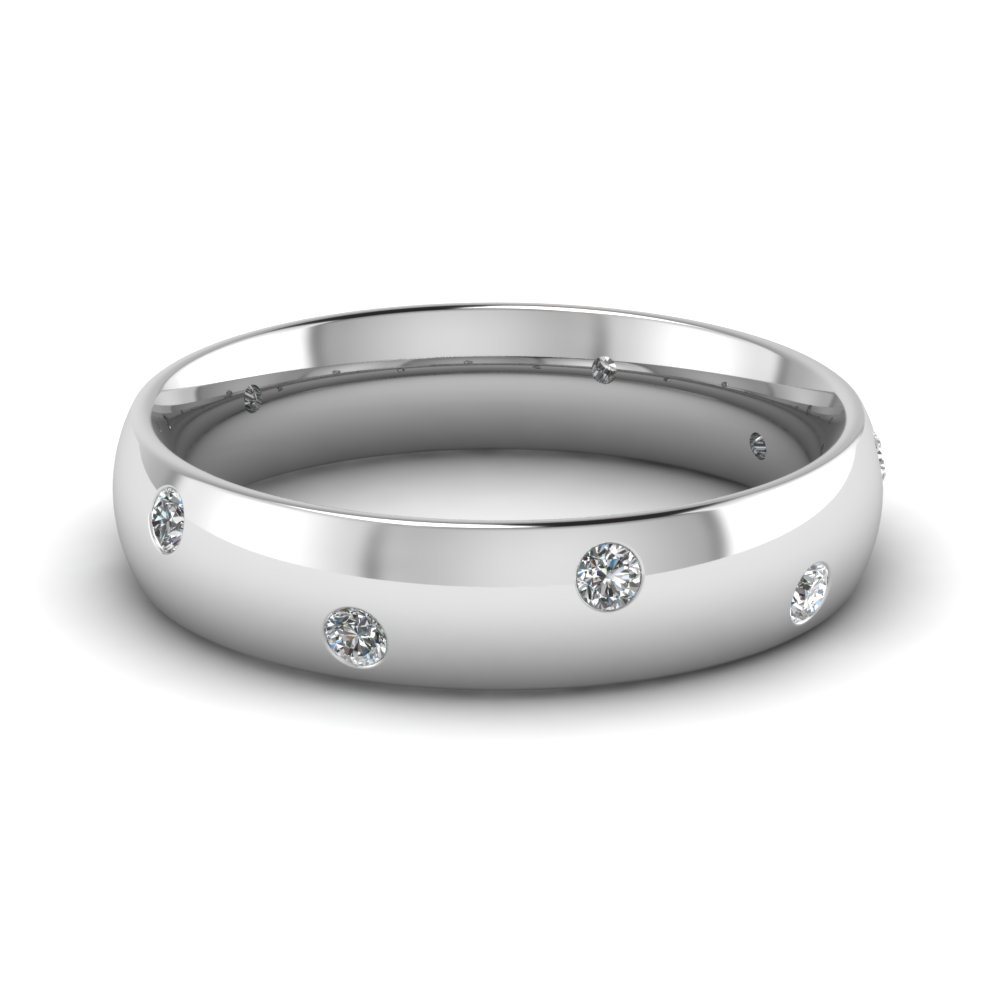 white-gold-round-white-diamond-wedding-band-in-bezel-set-FD1092B-NL-WG