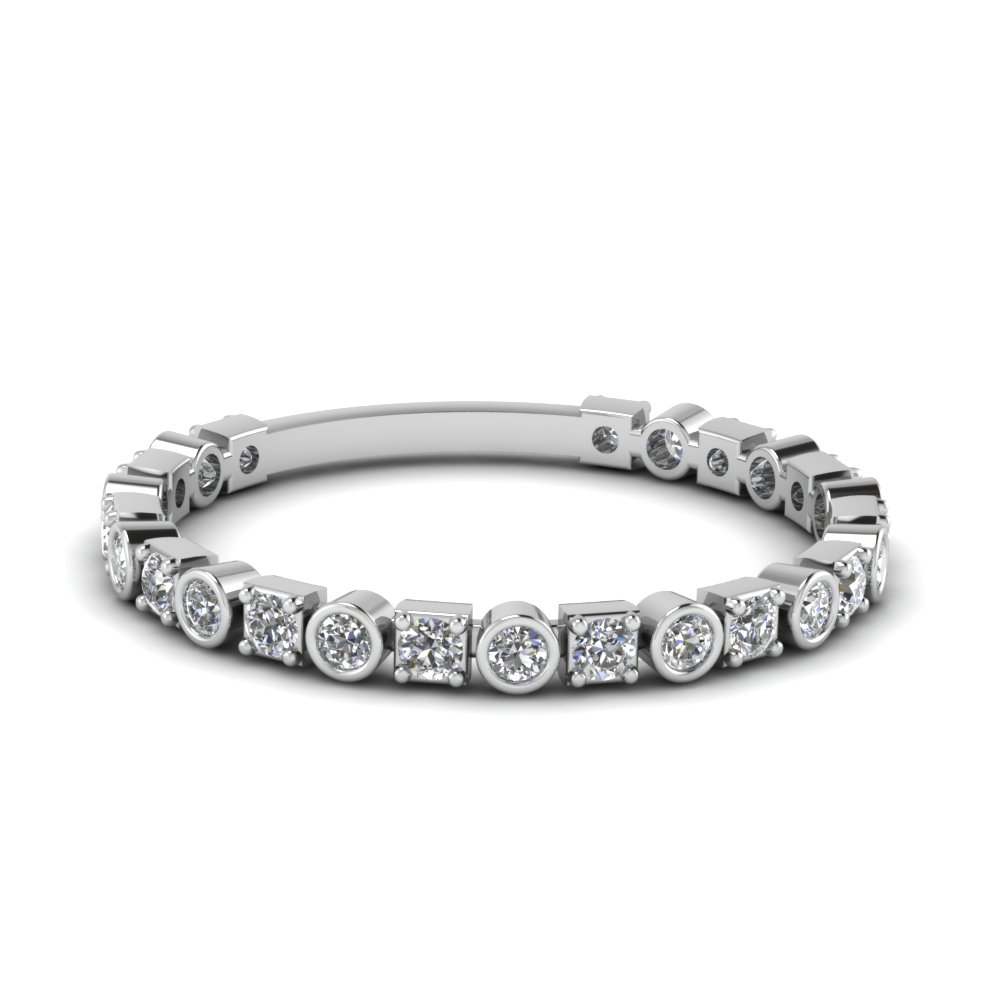 bezel and pave diamond wedding band in FD120583B NL WG.jpg