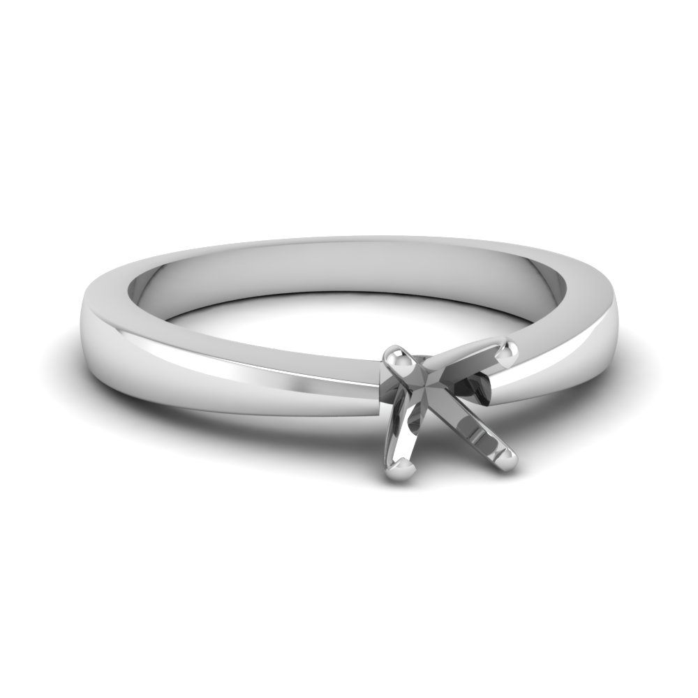 Semi Mount Traditional Engagement Ring