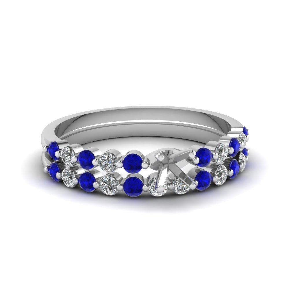 semi mount floating diamond wedding ring set with sapphire in FDENS3023SMGSABL NL WG.jpg