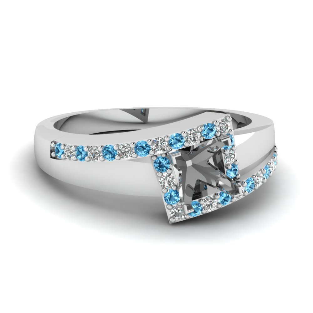 crossover semi mount halo diamond engagement ring with blue topaz in FDENS3166SMRGICBLTO NL WG.jpg