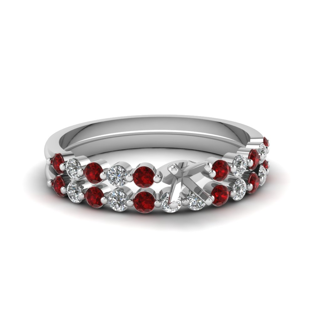 semi mount floating diamond wedding ring set with ruby in FDENS3023SMGRUDR NL WG.jpg