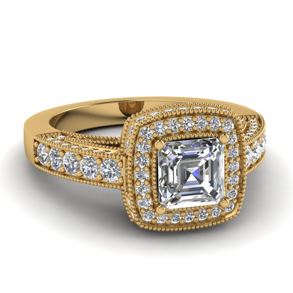 Timeless Traditional Halo Ring