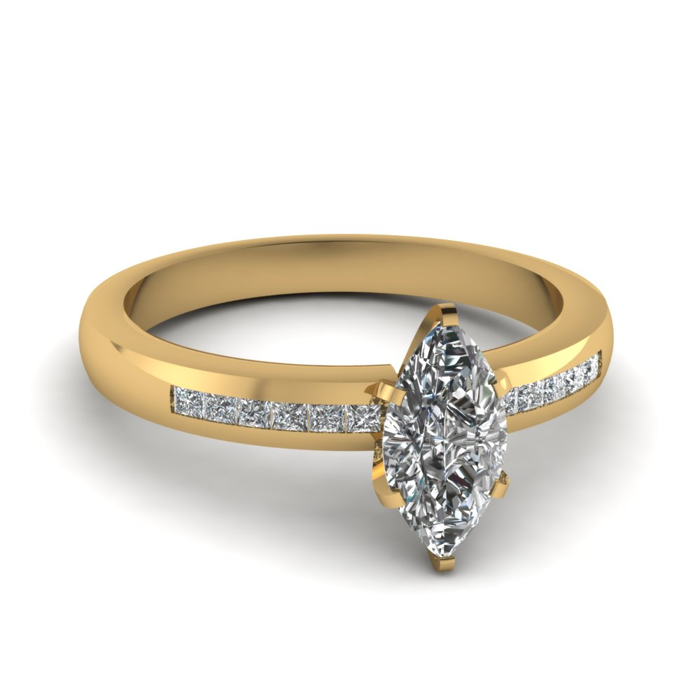 1/2 Carat Marquise Cut Diamond Ring For Her