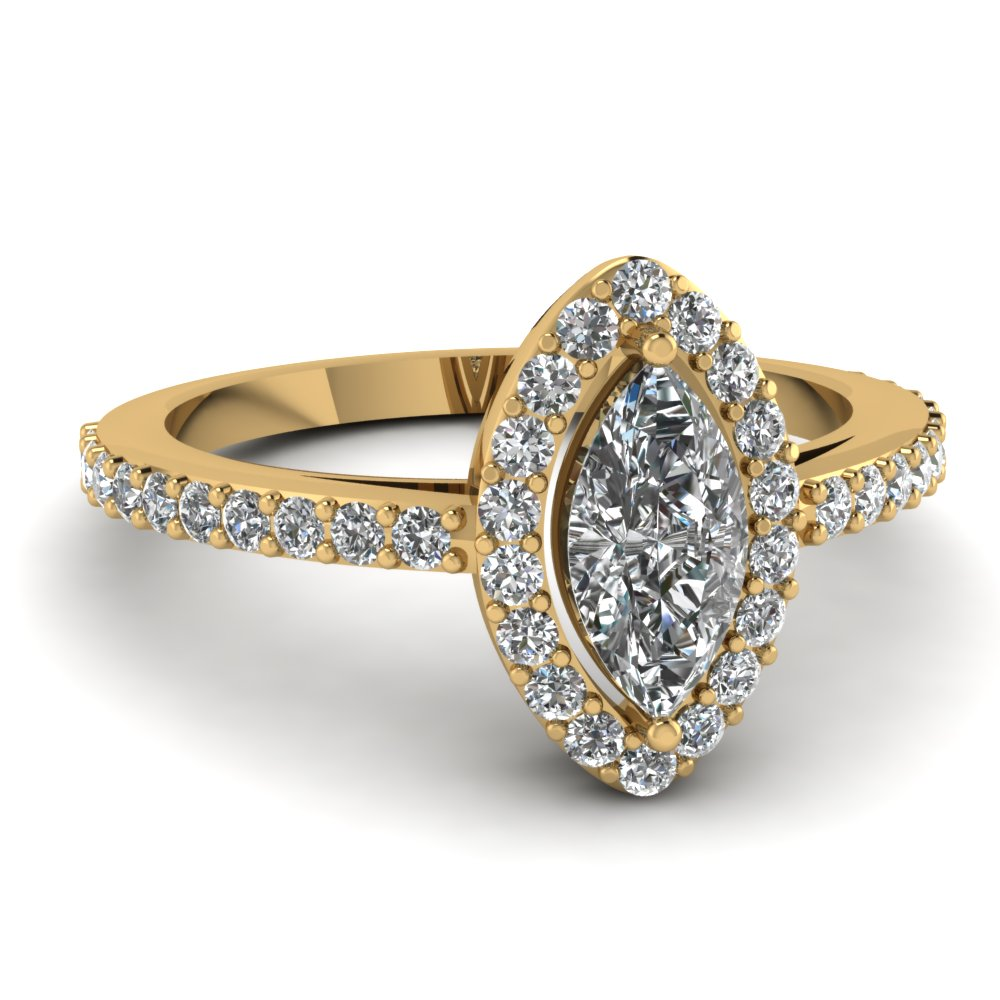 1 Ct. Marquise Cut Diamond Ring For Women