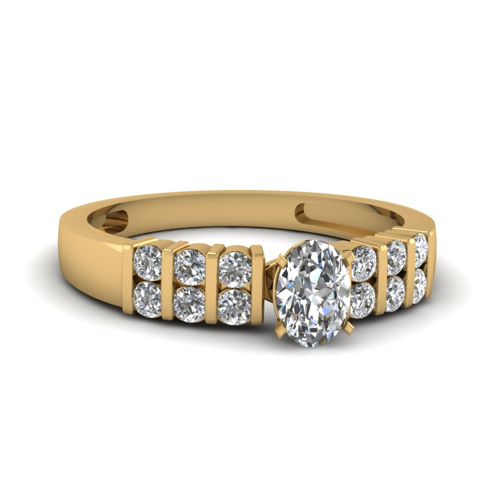 Oval Diamond Engagement Ring For Her