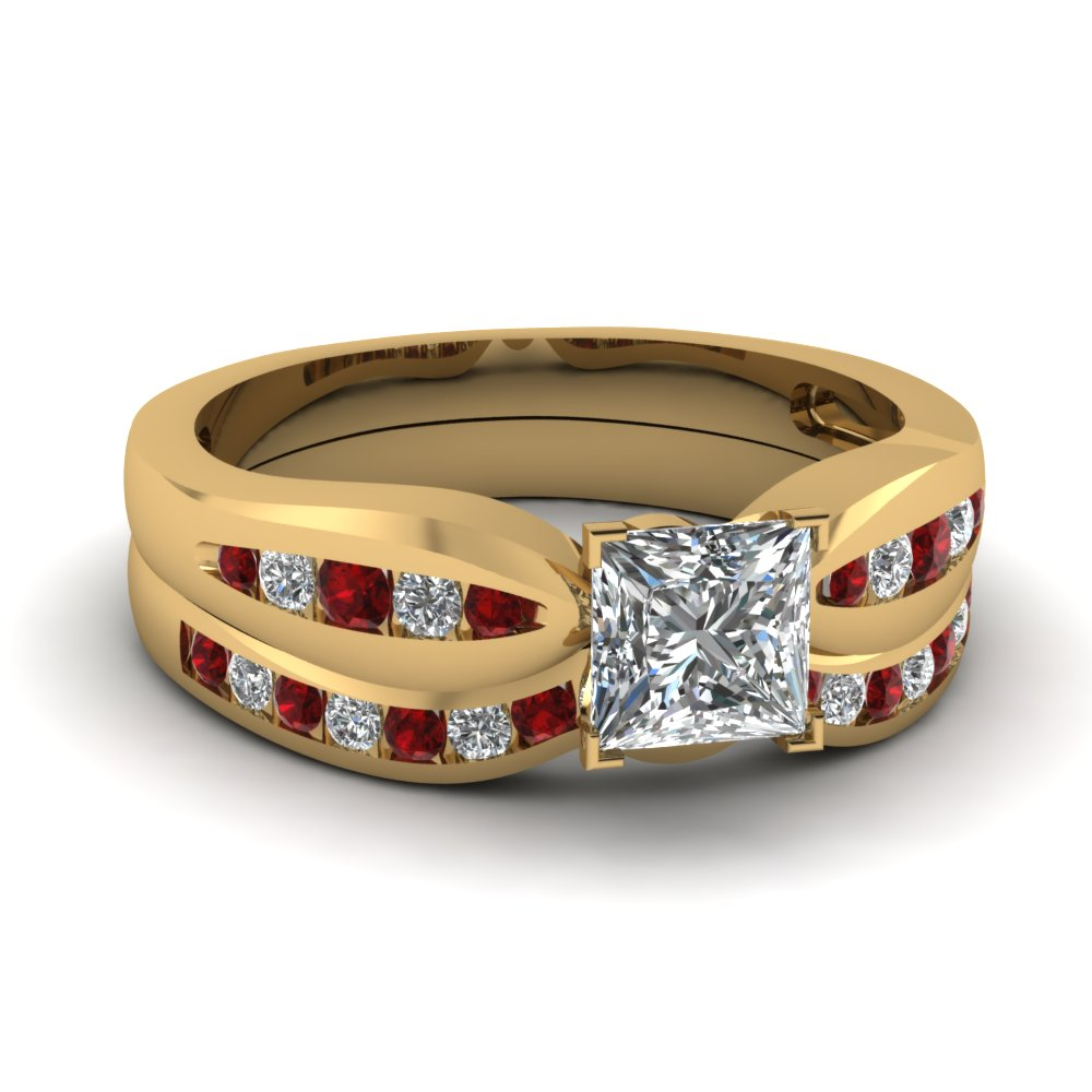Explore Our 18k Yellow Gold Engagement Rings| Fascinating Diamonds