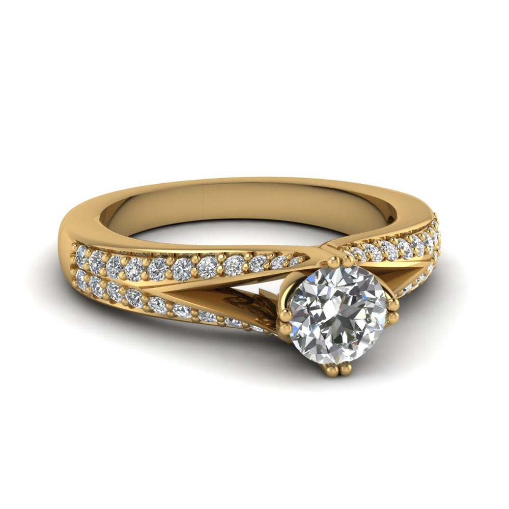 yellow-gold-round-white-diamond-engagement-wedding-ring-in-pave-set-FDENR8205ROR-NL-YG