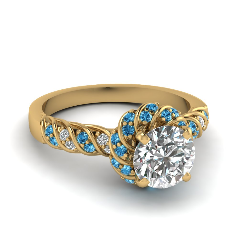 Avail Special Savings On Blue Topaz Jewelry  | Fascinating Diamonds
